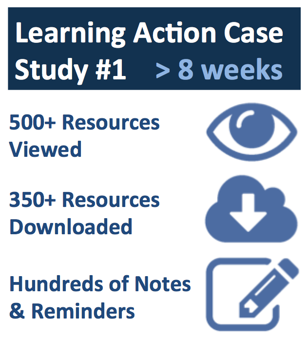 Learning Actions Case Study 1