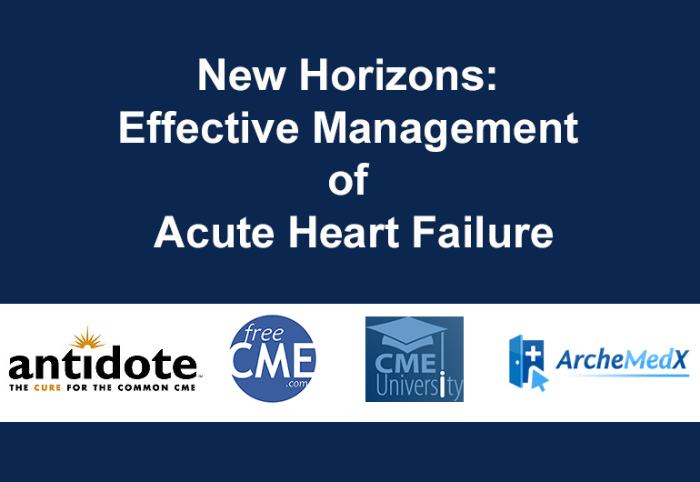 Effective Management of AHF