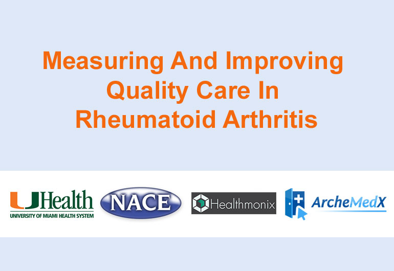 Measuring Quality Care In Rheumatoid Arthritis
