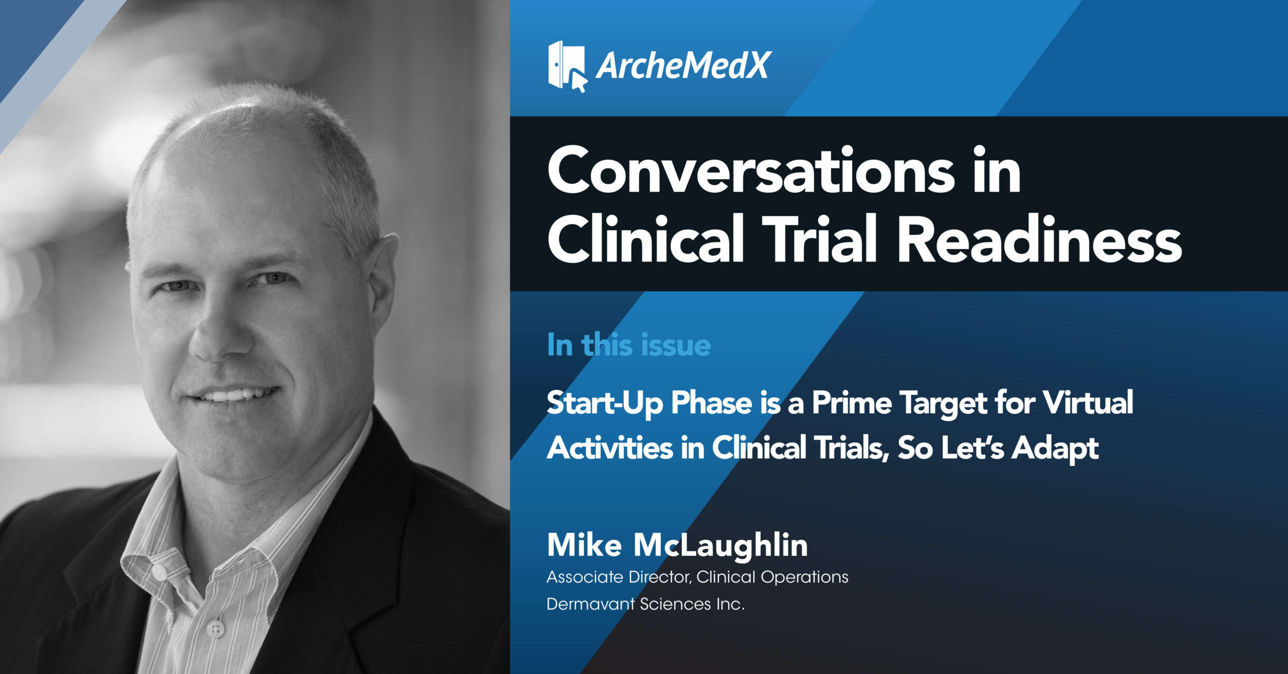 Mike McLaughlin -innovation in clinical trials